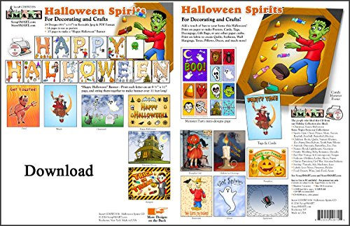 ScrapSMART - Halloween Spirits - Software Collection - Jpeg & PDF files for Mac -