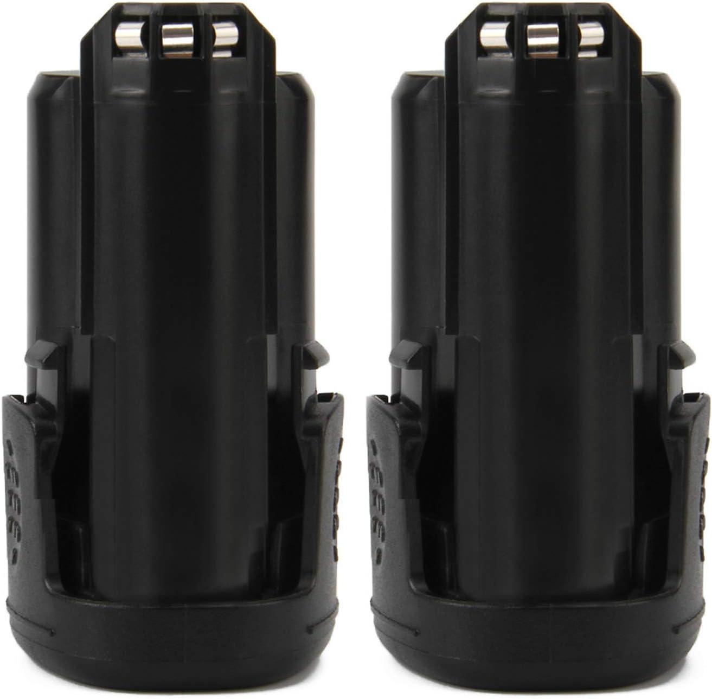 Lotive 2Packs 2500mAh Replacement for Dremel 12-Volt Max 8200 8220 8300 B812-03 B812-01 B812-02 Cordless Rotary Li-ion Battery Pack