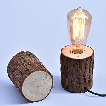 Amazon.com: Lamparas de mesa LED E27 de AOKARLIA con gel de ...