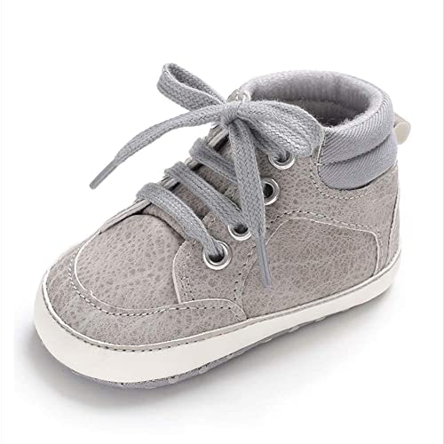 02298298005a9 Royal Victory Baby Boys Girls Anti-Slip Sneakers Soft Ankle Boots Toddler  First Walkers Newborn Crib Shoes