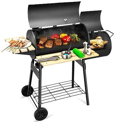 Amazon com: Charcoal Barbecue Stove Portable Grill Rack BBQ