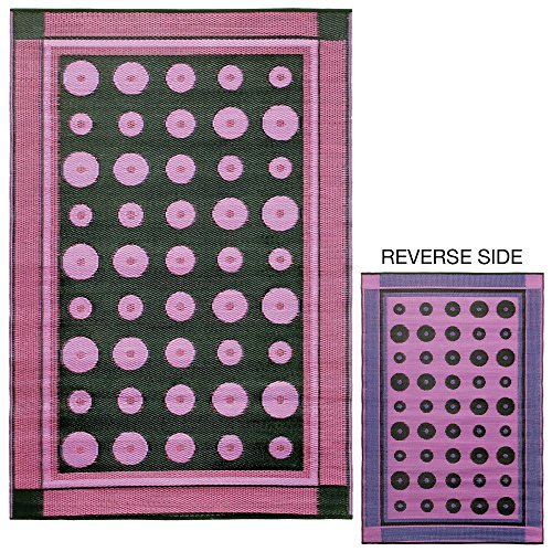 Price comparison product image Koko Company Dots 4 x 6 ft. Indoor / Outdoor Floor Mat