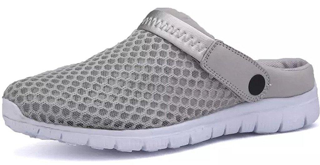 Eagsouni Mens Womens Mesh Slippers Summer Clogs Aqua Beach Sandals Garden Shoes