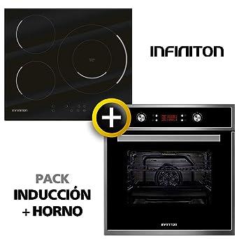 Pack Horno + INDUCCION INFINITON (Placa Encimera Induccion mas ...