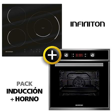 Pack Horno + INDUCCION INFINITON (Placa Encimera Induccion ...