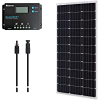 Deals on Renogy 12V 100W Monocrystalline Bundle Kit Solar Panel