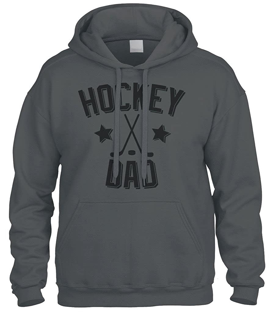 Cybertela Father's Day Gift Hockey Dad Sweatshirt Hoodie Hoody