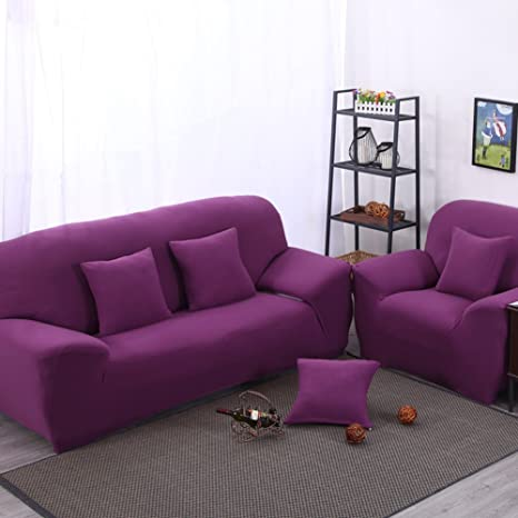 Amazon.com: Alta elasticidad Slipcovers sala de estar ...
