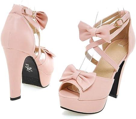 Inornever High Heels Plaform Sandals