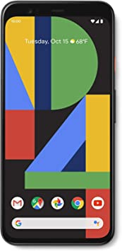 Google Pixel 4 (5,7 pulgadas, Android) Factory Unlocked SIM-Free 4G/LTE Smartphone (G020M UK modelo): Amazon.es: Electrónica