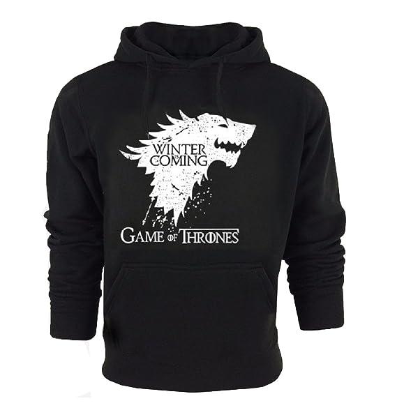 "Game Of Thrones /"" House Stark /"" Felpa con Cappuccio"