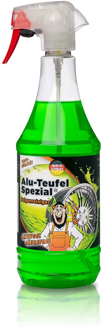 TUGA Diable-alu Nettoyant spécial pour jantes, pulvérisateur 1000ml