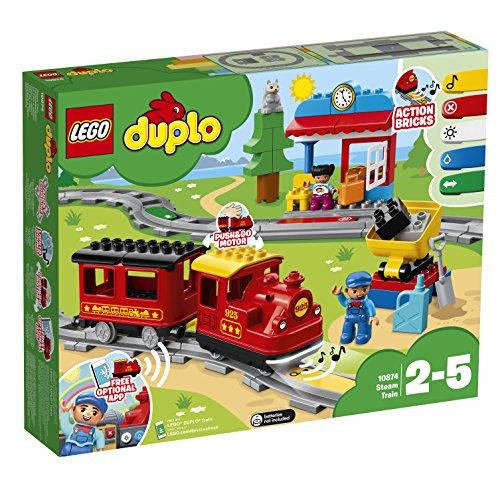 레고(LEGO) 듀플로 그대가 차장씨! 밀고 GO 기관차 디럭스 10874
