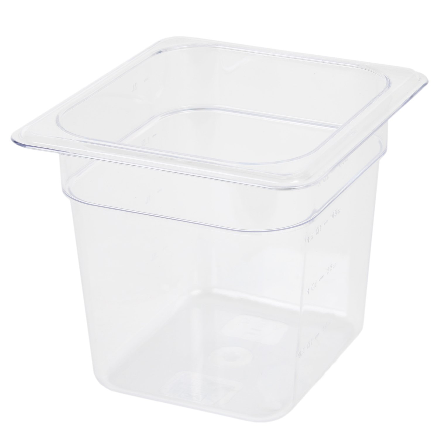 Excellante 849851007260 Deep Polycarbonate Food Pan, 6