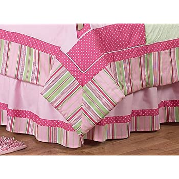 Amazon.com: Sweet Jojo Designs Pink and Green Flower