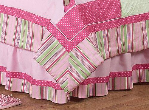 Sweet Jojo Designs Queen Kids Children's Bed Skirt for Jungle Friends Bedding Sets