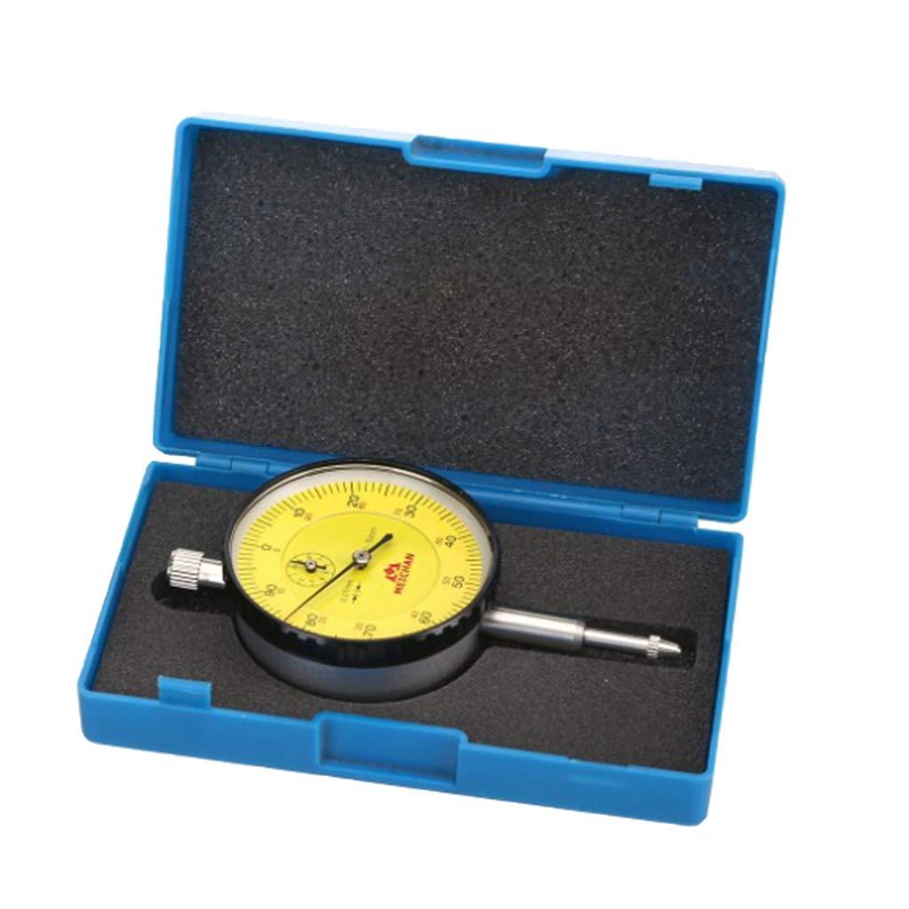 Almencla Levier Cadran Indicateur Pr/écision Antichoc Indicateur de Leviers 0-10mm Pr/écision 0.02mm