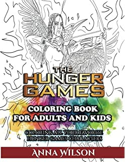 The Hunger Games Coloring Book For Adults And Kids All Your Favorite