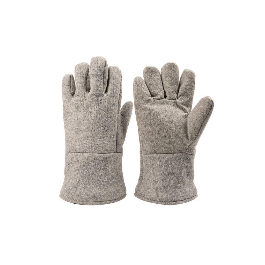 YYTLST Anti-scalding Gloves, Wear-Resistant and High Temperature Resistant 500 °C, Flexible Use of Fingers, Suitable for Oven Baking Metal Industry, Three Pairs by YYTLST