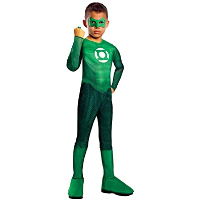 Green Lantern Child's Hal Jordan Costume - One Color - Small: Toys & Games