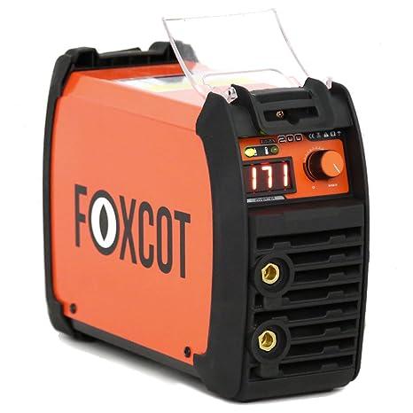 Saldatrice Inverter 165A Foxcot accessoriata - Uso con reti domestiche