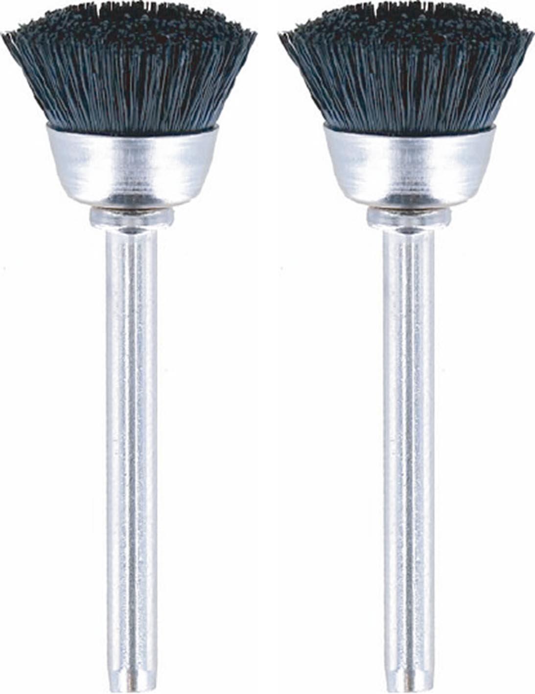 """DREMEL MFG CO 404-02 2 Pack, 1/2"""" Nylon Brush"""