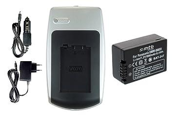 Batería + Cargador DMW-BMB9E para Panasonic Lumix DMC-FZ40, FZ45, FZ47, FZ48... - ver la descripción