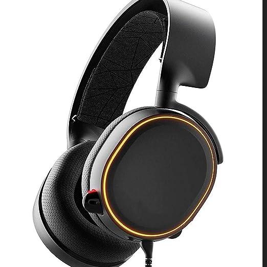 Yughb Auriculares de micrófono de Sonido Envolvente 7.1 RGB ...