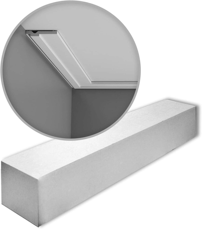 1 Box 42 Pieces Cornices Mouldings 84 m Orac Decor CX161 AXXENT