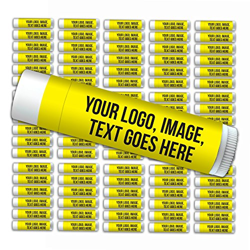 - Customized Label Premium Lip Balm—Bulk 100-Piece Pack—Smooth Mint Flavored, SPF 15, Made with Beeswax, Aloe Vera, Coconut Oil, Avocado Oil, Vitamin E. Promotional Products, Gifts for Business, Events.