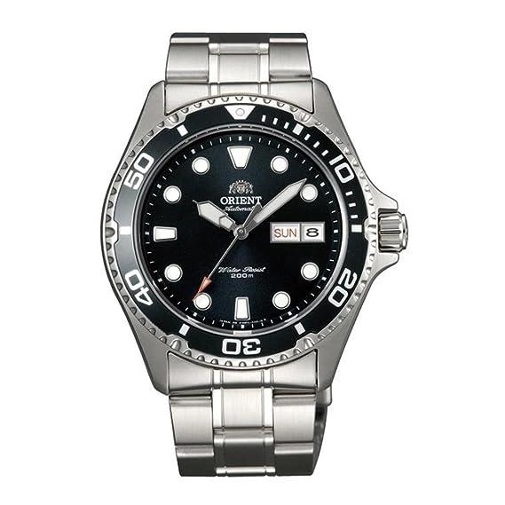 Orient Reloj Analogico para Mujer de Automático con Correa en Acero Inoxidable FAA02004B9: Amazon.es: Relojes