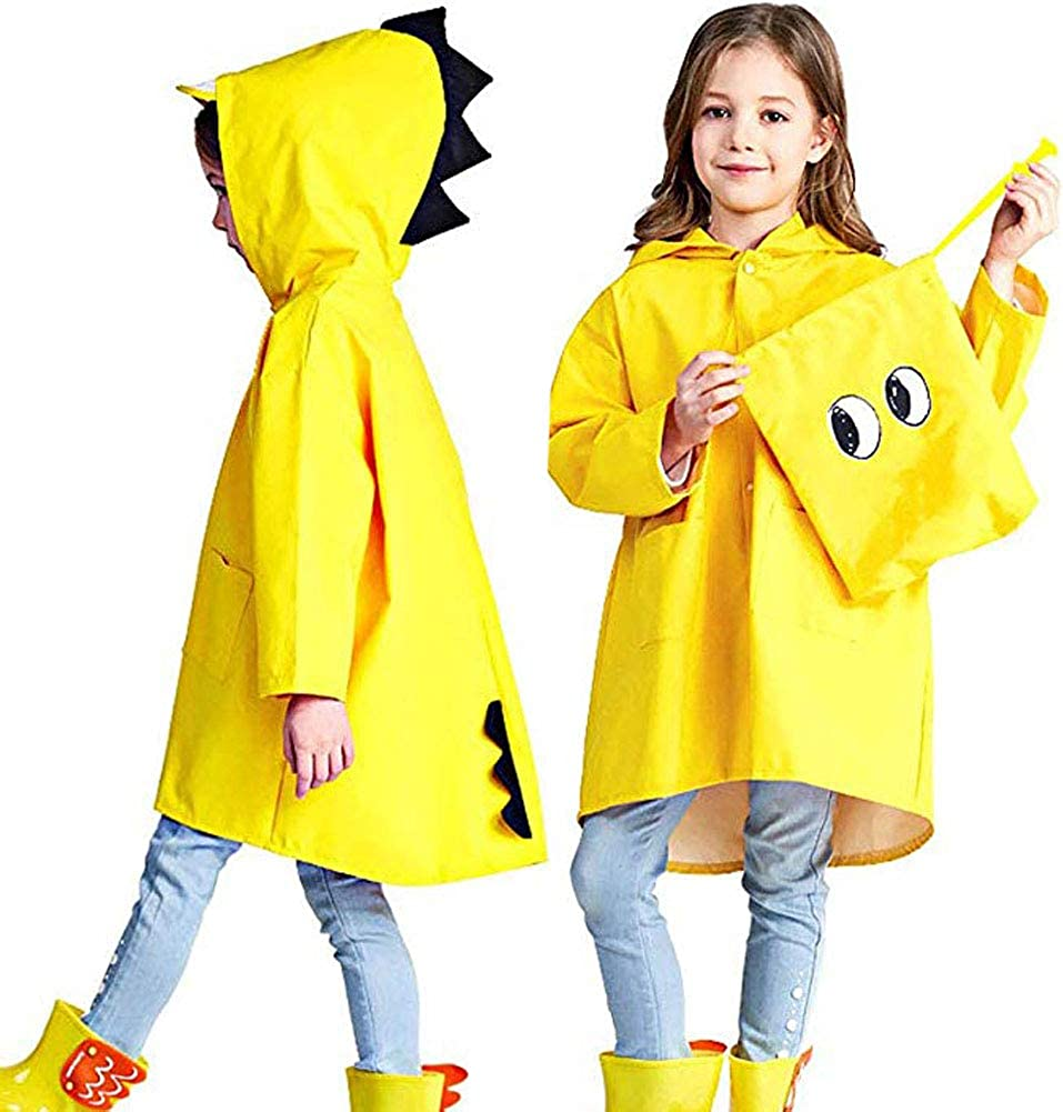 Playshoes Girls Stars Allover Rain Set Raincoat