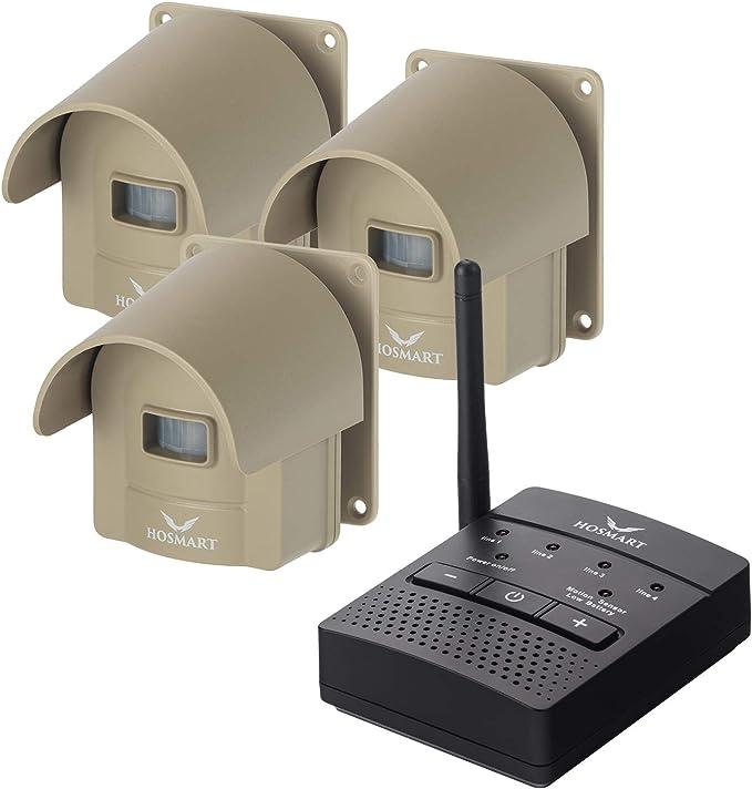 contrôle à distance Yard alarme garage Porte d/'Alarme Infrarouge Allée Alarme alarme