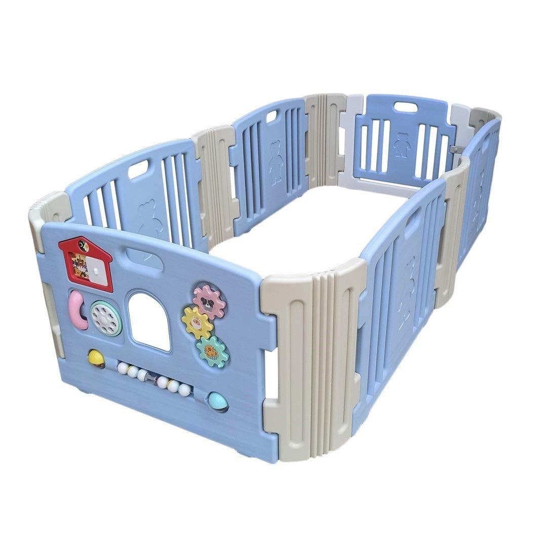 Babycenterindia Baby Room (Light Blue -Grey, with 2 Extension) (B07TXJ1X8M) Amazon Price History, Amazon Price Tracker