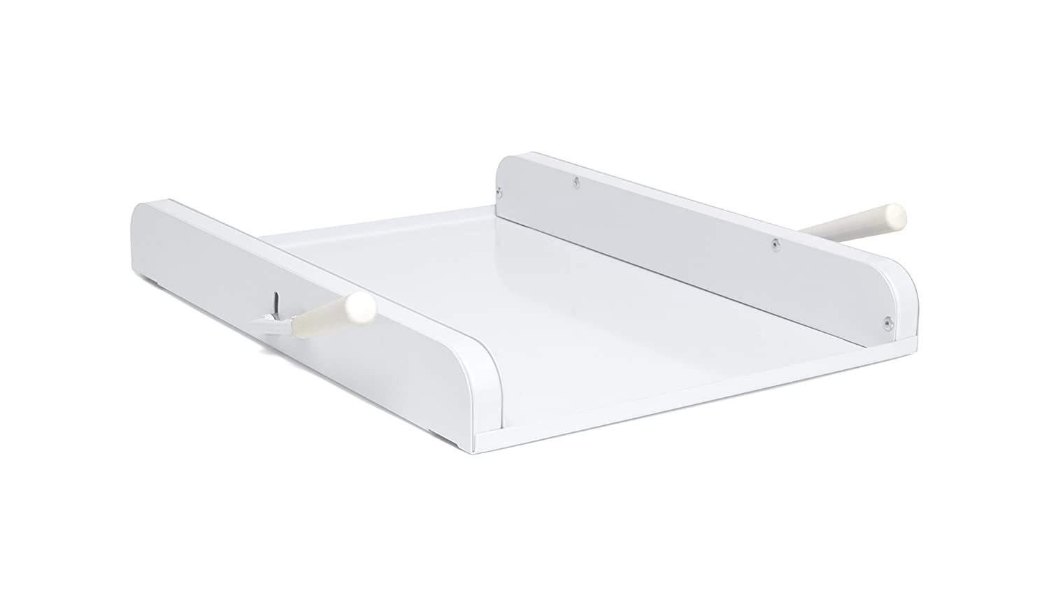 "Lipper International 8701W Rolling Platform for Mixers and Appliances, 15-3/4"" x 11-7/8"" x 2-1/8"", White"