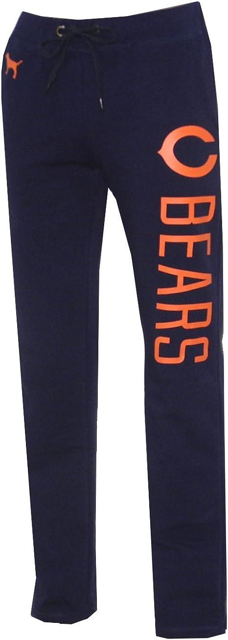 Mujer Rosa Victoria Secret Nfl Chicago Bears Pantalones De Pijama Mujer Color Azul Oscuro Azul Oscuro Tamano Large Amazon Es Deportes Y Aire Libre