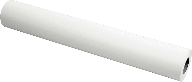 Bobina de Papel Kraft Tamaño 1mx150m Color Blanco 10kg: Amazon.es ...