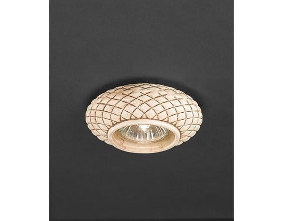 La lampada diamante faretto ad incasso classico in ceramica