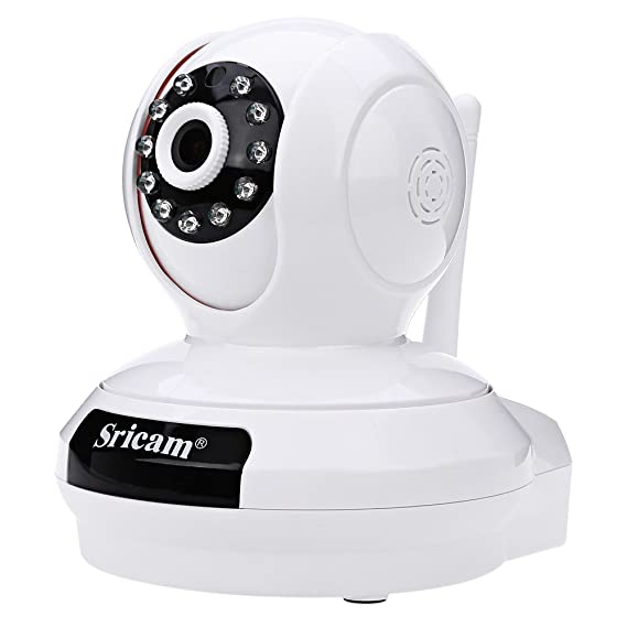 Sricam SP019 2.0 MP Wireless Full Hd 1080P IP Wifi CCTV Indoor Security Camera (White) Simulated Cameras at amazon