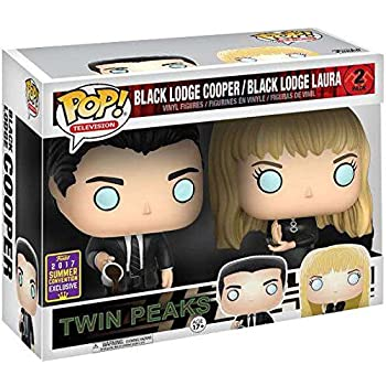 Twin Peaks Funko POP! TV Black Lodge Cooper & Laura Exclusive Vinyl Figure