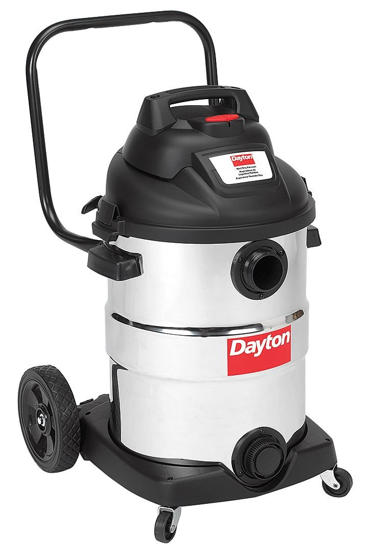 Wet/Dry Vacuum, 2 HP, 12 gal, 120V by Dayton