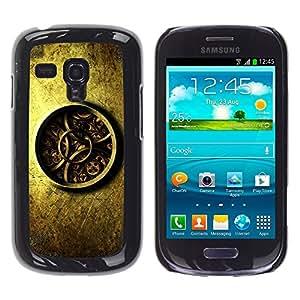 """For Samsung Galaxy S3 MINI ( NOT for regular S3 , S-type Detalladas Mecánica Reloj Reloj"""" - Arte & diseño plástico duro Fundas Cover Cubre Hard Case Cover"""