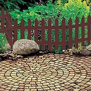 Zanvic Classic Minivalla separación para jardín Garden, Medida 35 ...