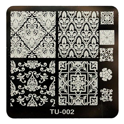 Willtoo 2016 Hot Sell Pattern DIY Nail Art Image Stamp Stamping Plates Manicure Template 02