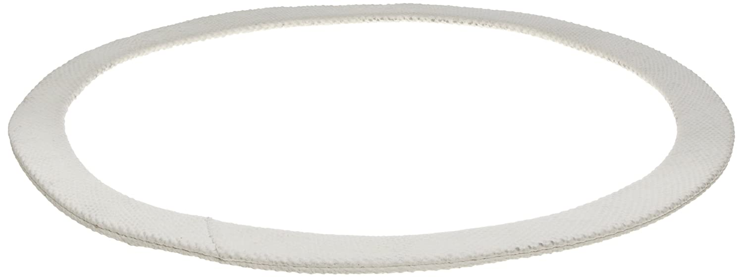 White Fiberglass//Rubber Gasket for Boilers and Access Covers Pack of 1 Elliptical 1//4 Thick 3 1//2 x 4 1//2 ID x 5//8