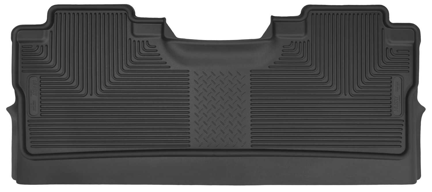 Husky Liners 53471 Black Fits 2015-19 Ford F-150 SuperCrew X-act Contour 2nd Seat Floor Liner (Footwell Coverage) by Husky Liners