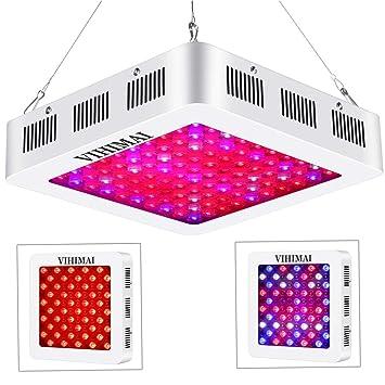 LED Grow Light 600W 1200W Full Spectrum Veg/&Bloom All Stages SMD /& Optic Lens