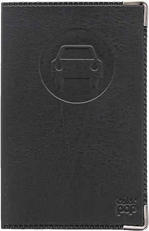 Porte Papiers Voiture Enveloppe Permis De Conduire Carte Grise 15 CM Dore Clair
