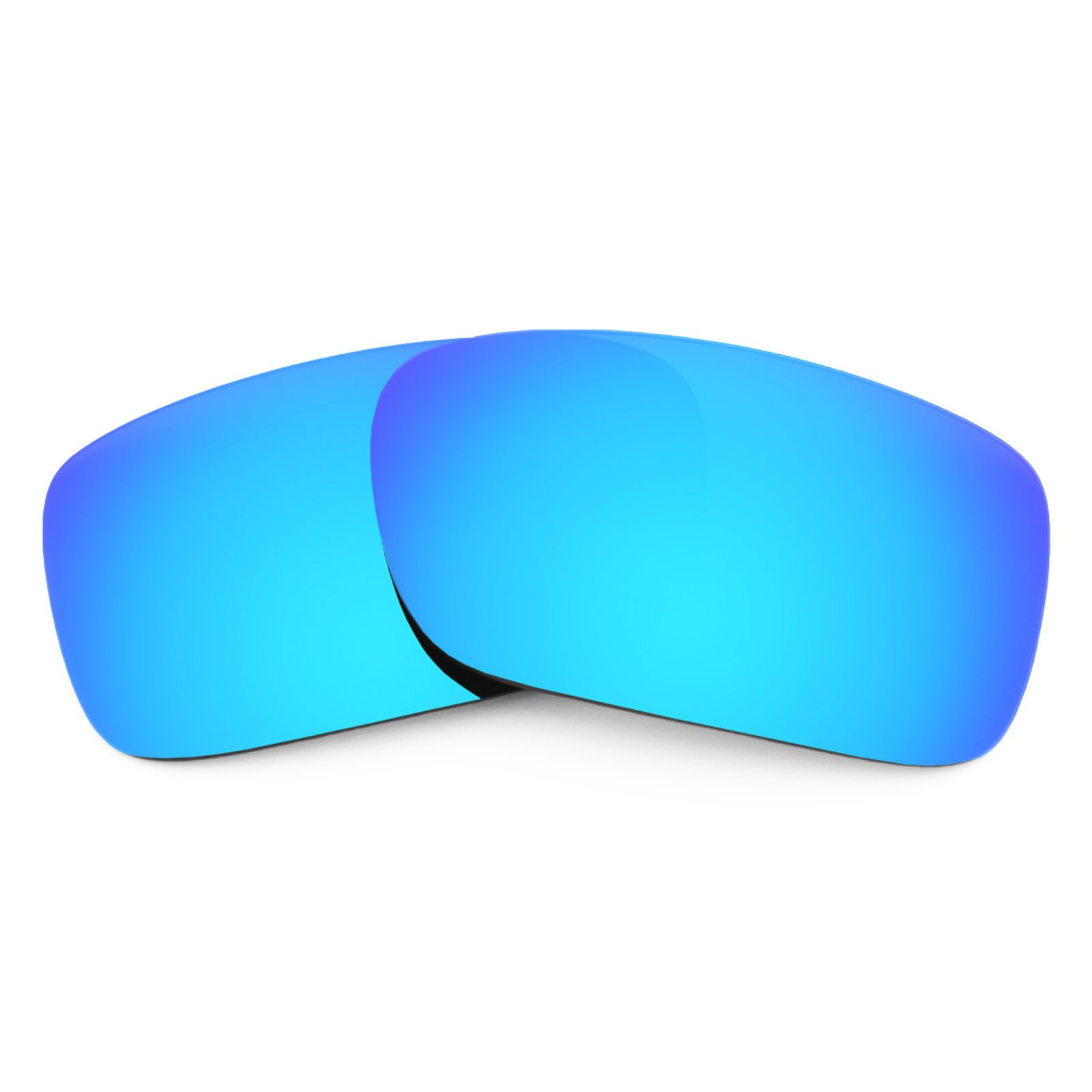 Revant Polarized Replacement Lenses for Oakley Crankcase Ice Blue MirrorShield