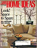 img - for 1,001 Home Ideas Magazine, October 1989 book / textbook / text book